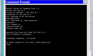 Cara Konfigurasi Ftp Server di Cisco Packet Tracer